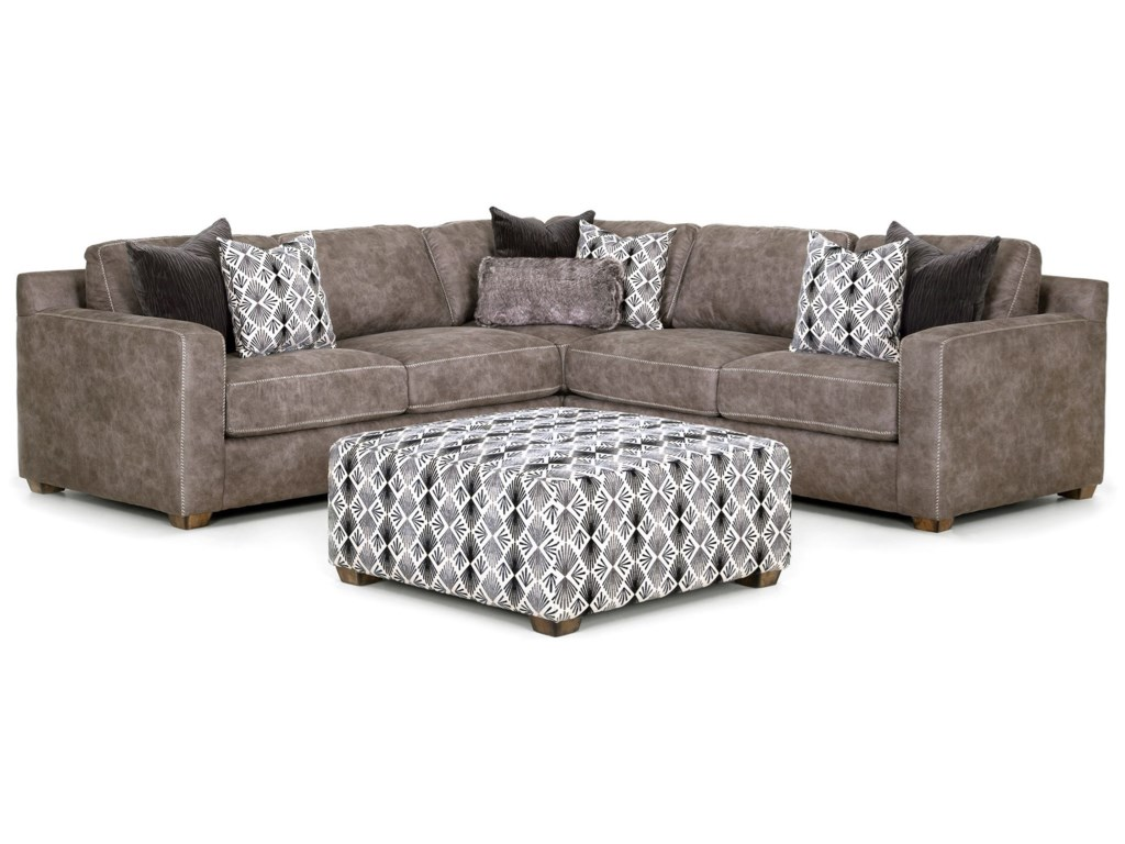 Franklin JamesonThree Piece Sectional