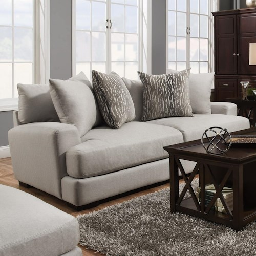 Franklin Oslo Sofa With Two Seat Cushion Construction