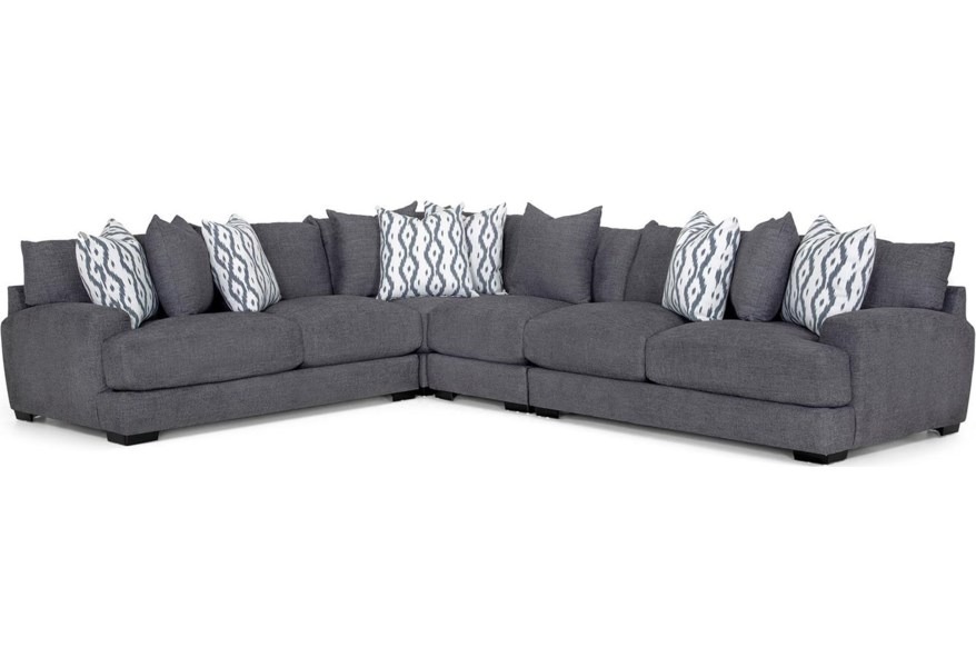 Franklin Glasgow 3 Piece Sectional | Darvin Furniture | Sectional