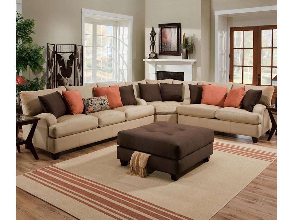 Franklin 809Sectional Sofa