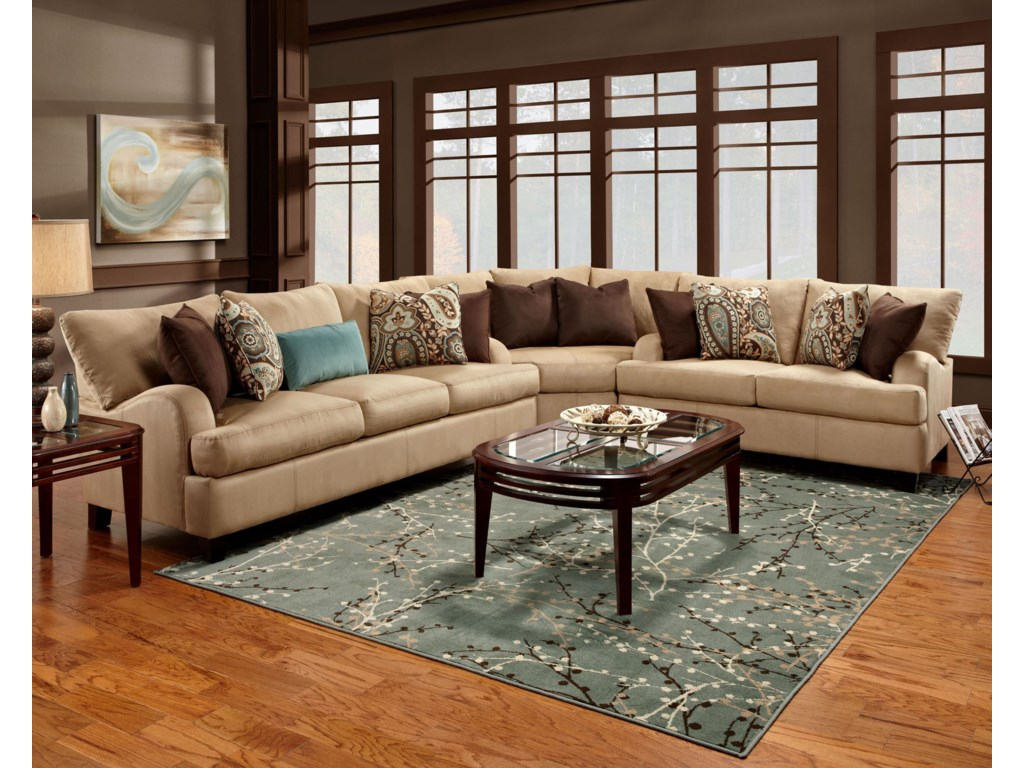 Franklin 809Sectional Sofa