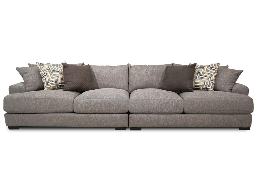 Brentwood 2-Piece Stationary Sectional by Franklin at Ruby Gordon Home
