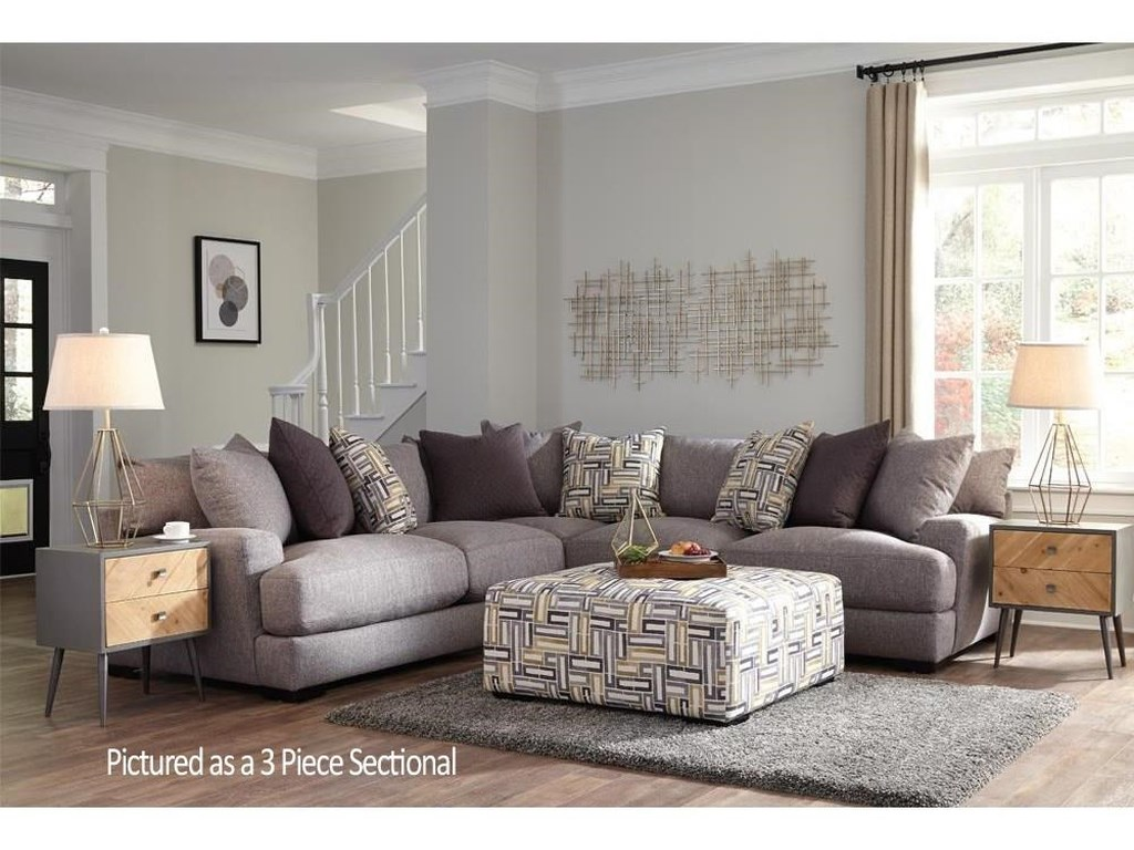 Franklin Brentwood3-Piece Stationary Sectional