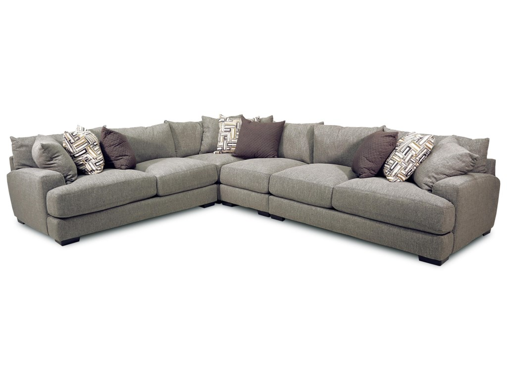 Franklin Brentwood4-Piece Stationary Sectional