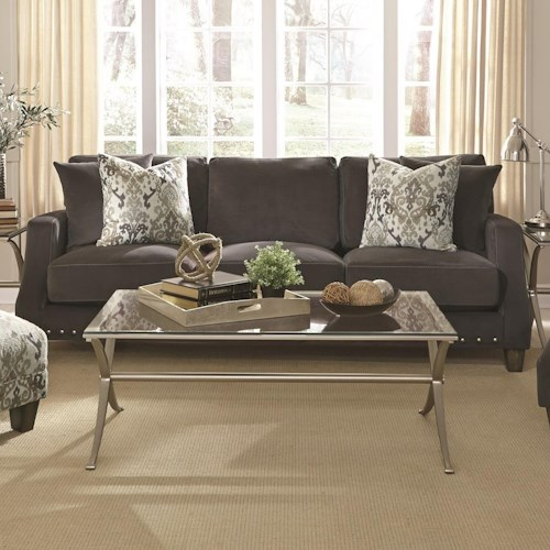 Franklin 863 Sofa With Transitional Style