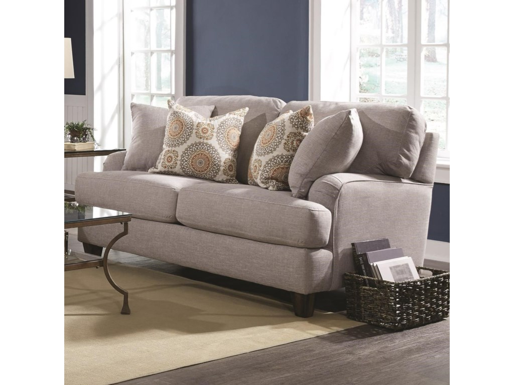 Franklin Carmel Loveseat With Clic Cottage Style