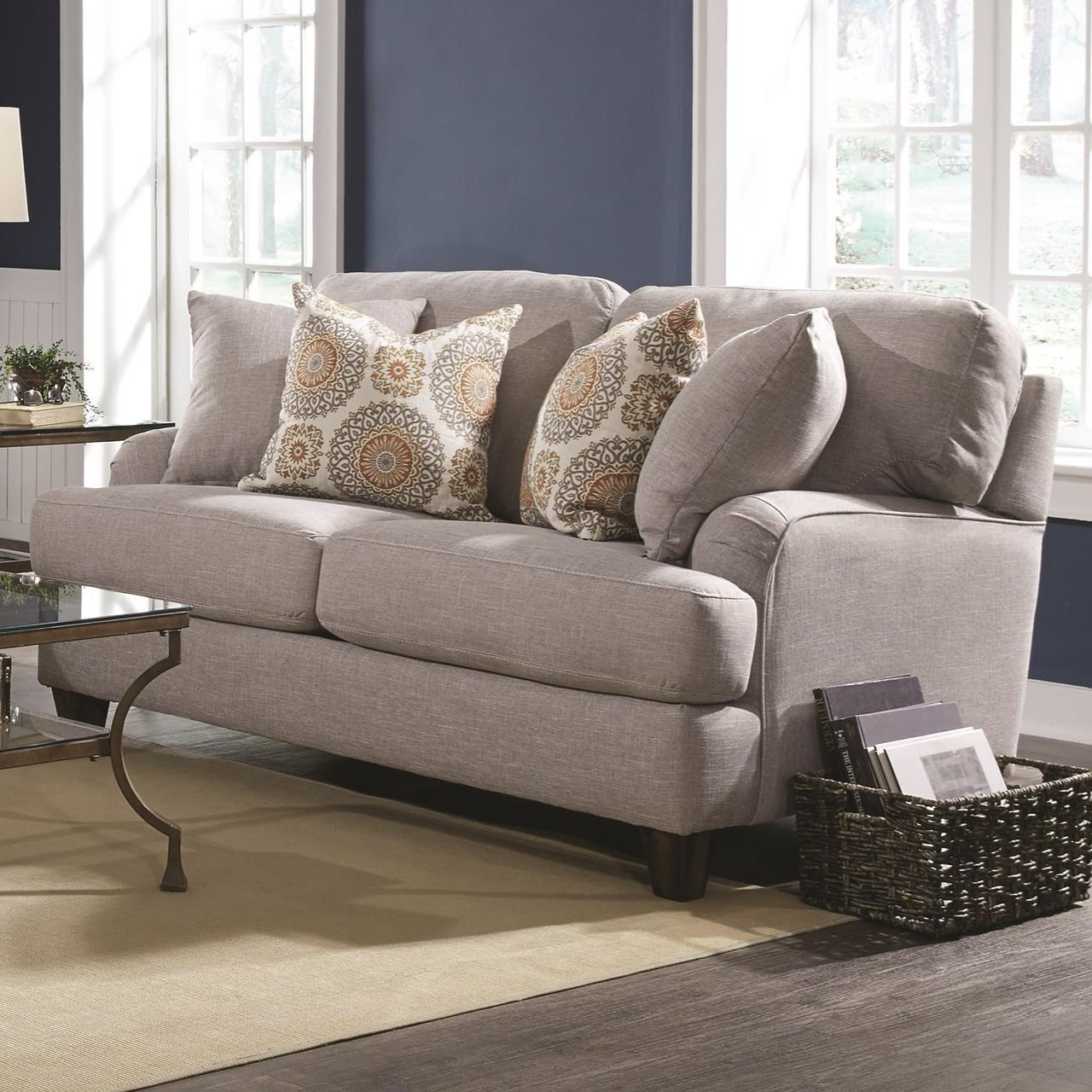 Franklin Carmel Loveseat With Classic Cottage Style | Miskelly Furniture |  Love Seats
