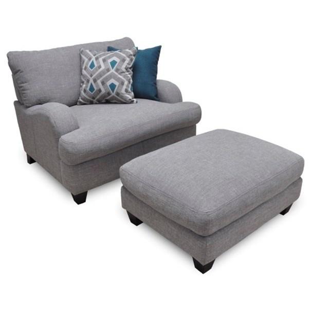 Franklin Paradigm Chair And A Half U0026 Ottoman