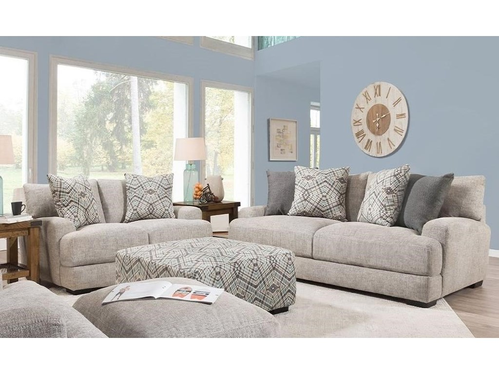 Franklin 903Stationary Living Room Group