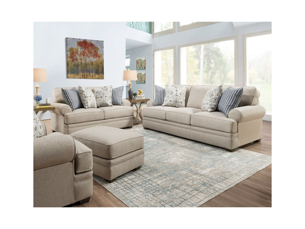 Franklin 915Loveseat