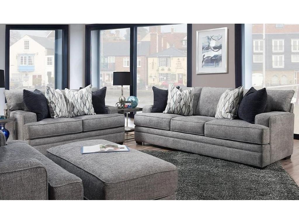 Franklin 953Stationary Living Room Group