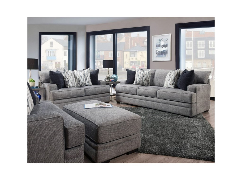 Franklin 953Loveseat