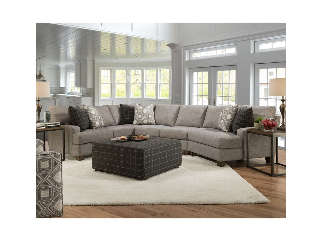 Franklin 964Sectional Sofa