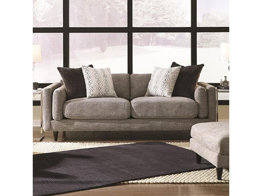 Franklin Argentine 838Two Seat Sofa