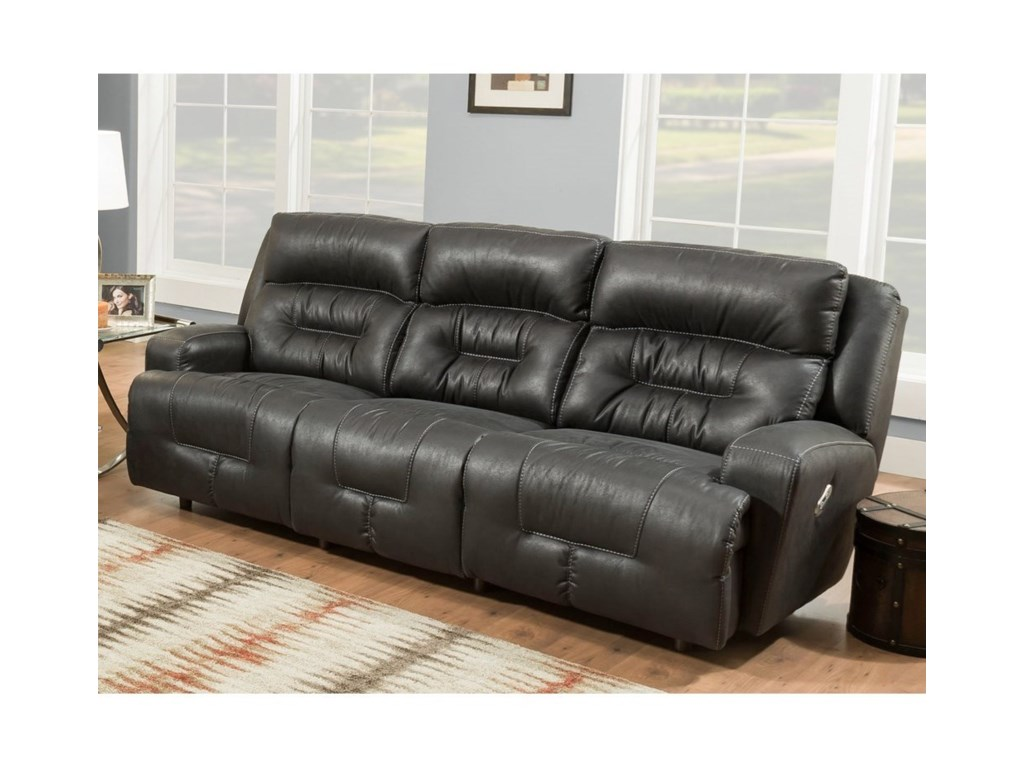 Franklin ArmstrongPower Reclining Sofa with USB Port