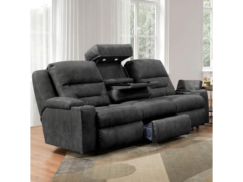 Franklin BeaconPower Reclining Sofa