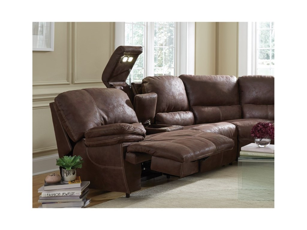Franklin BoulderPower Reclining Sectional
