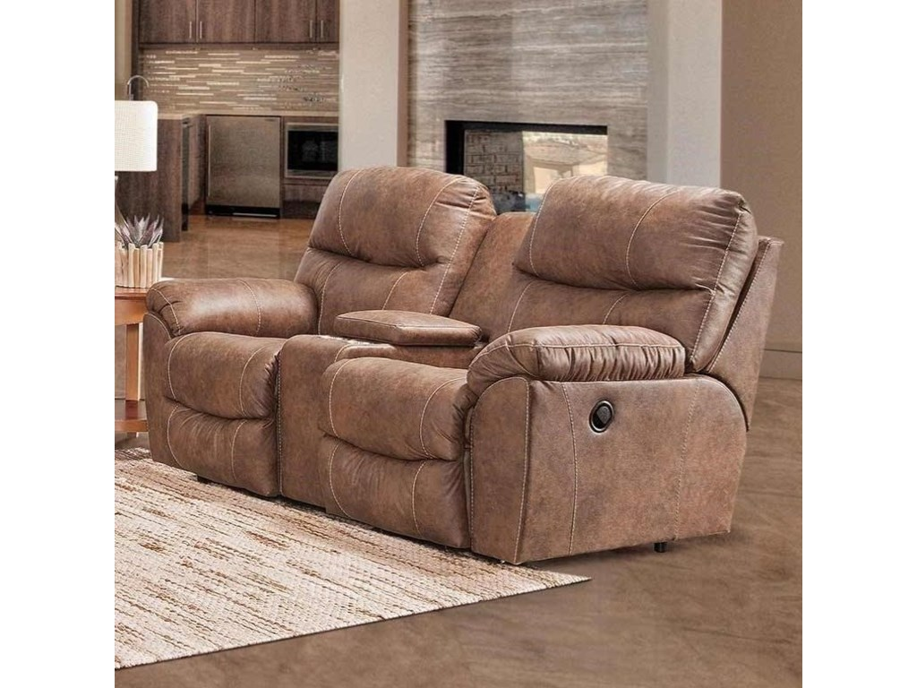 Franklin CabotManual Reclining Console Loveseat