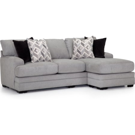 Sofa with Reversible Chaise