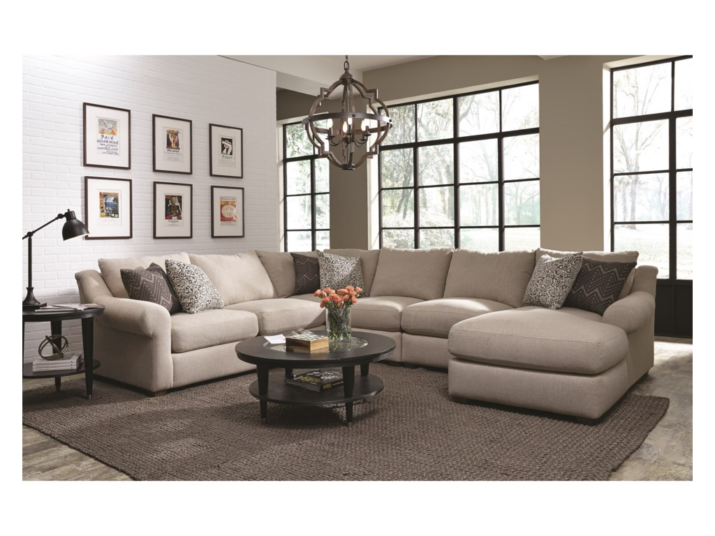 Franklin ElliFive Seat Sectional