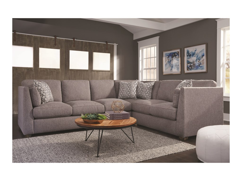 Franklin Greystone Sectional Sofa | Furniture Superstore ...