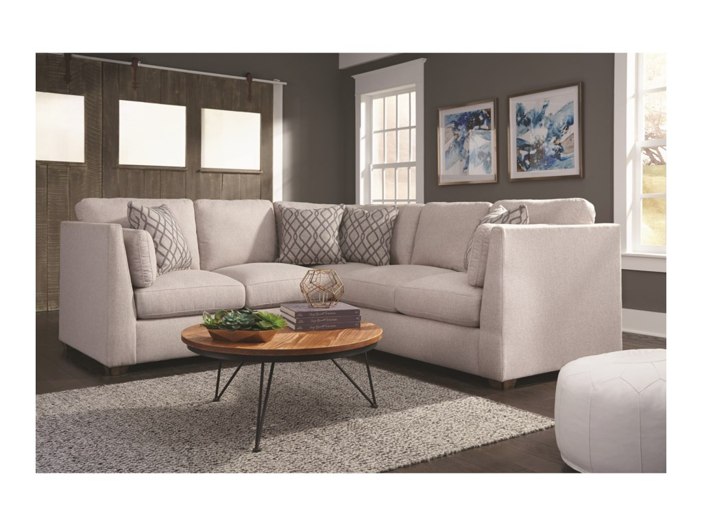 Franklin Hawthorne2 Piece Sectional Sofa