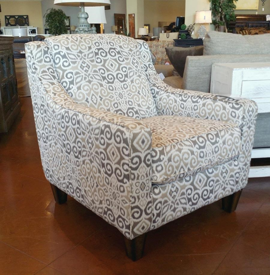 Franklin Hobbs Landon Driftwood Accent Chair   Great American Home Store    Upholstered Chairs