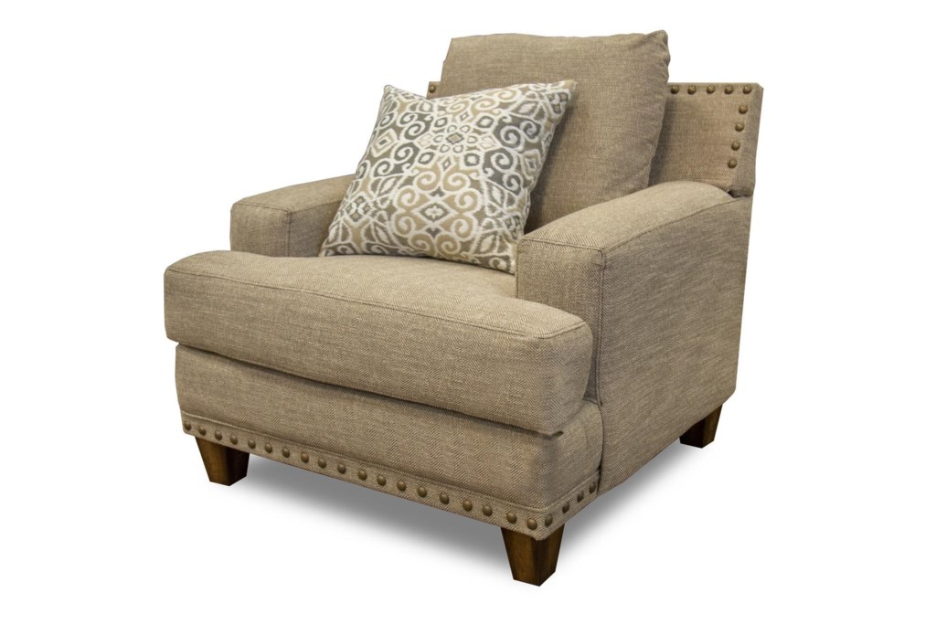 franklin hobbs chair & a half - great american home store - chair