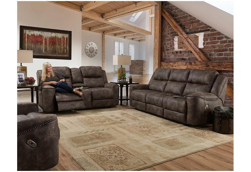 76345 3828 20 Reclining Sofa