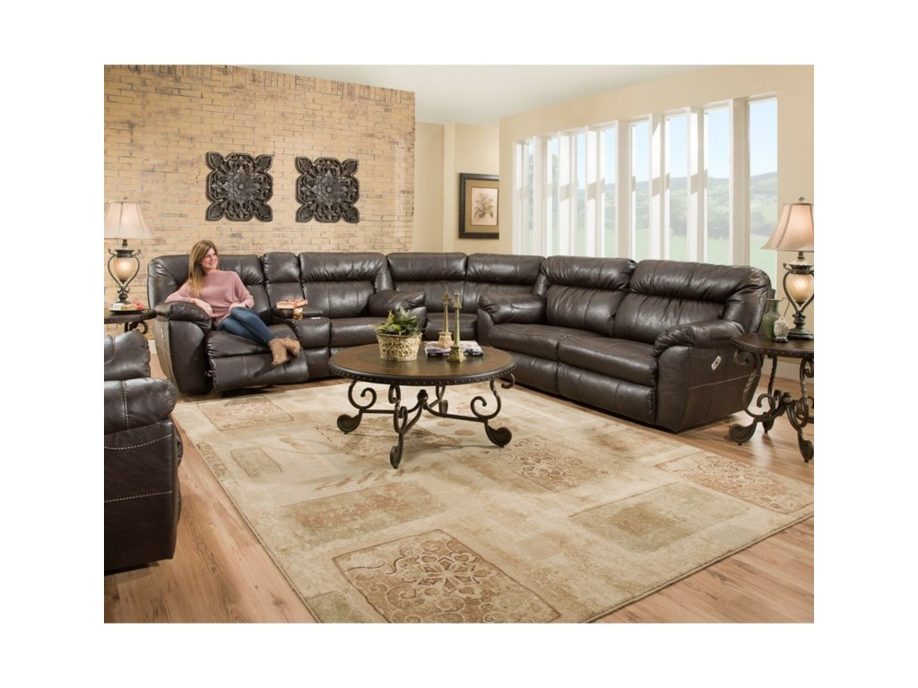 Franklin LewisPower Reclining Sofa