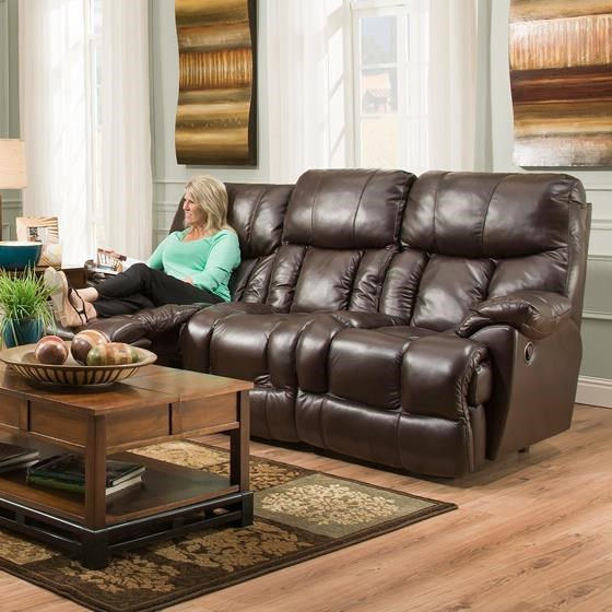 Merveilleux Franklin Mammoth POWER Reclining Sofa With Extra Tall And Wide Seats