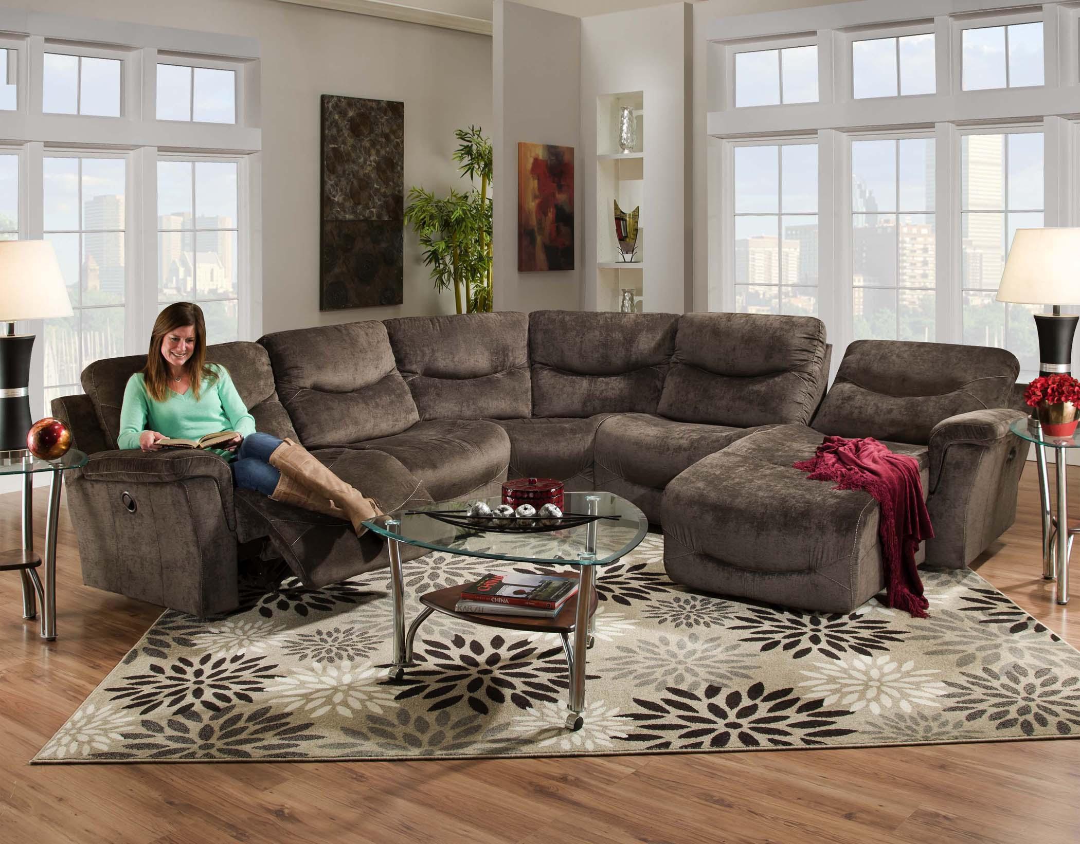 Superb Franklin Milano Power Sectional Sofa