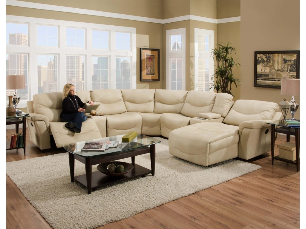 Franklin Milano Sectional Sofa