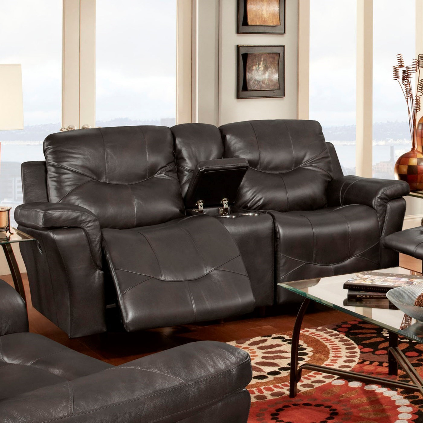 Franklin Milano Power Reclining Console Loveseat - Furniture and ApplianceMart - Reclining Love Seat  sc 1 st  Furniture and ApplianceMart : franklin power recliner - islam-shia.org