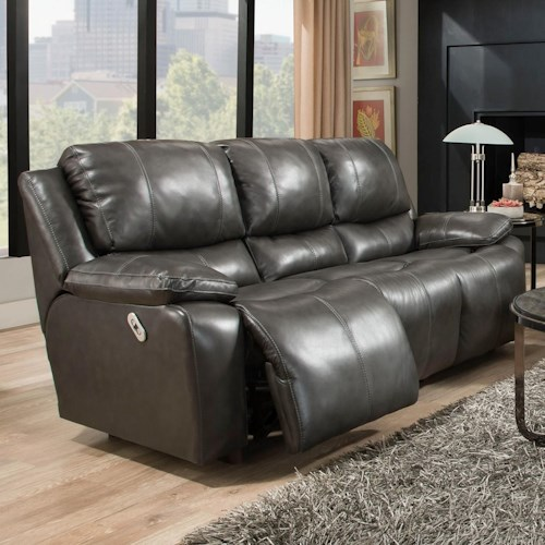 Franklin Montana Power Reclining Sofa With Power Backrest Moore 39 S Home Furnishings Reclining