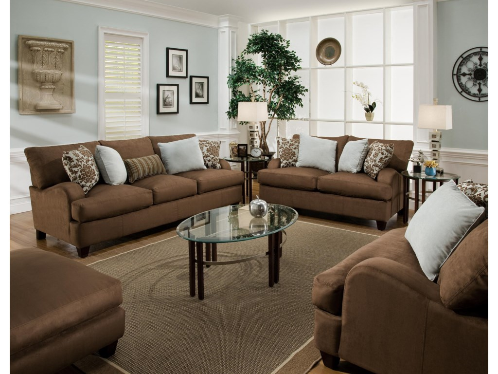Shown with Stationary Sofa
