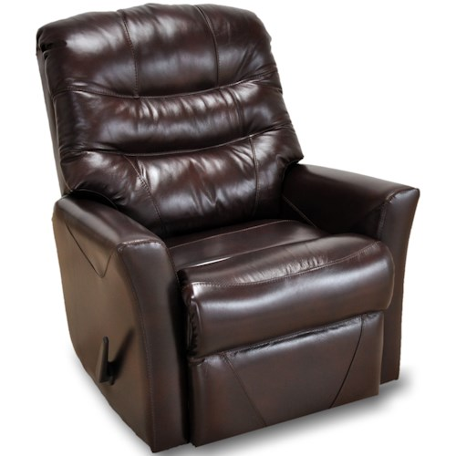 Franklin Franklin Recliners Patriot Swivel Rocker Recliner