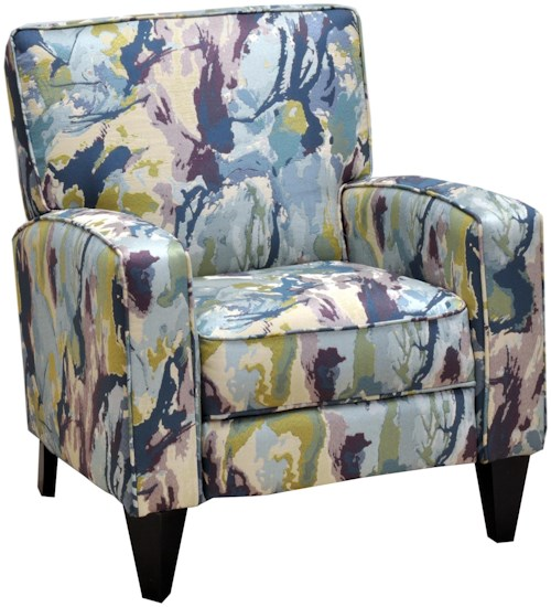 Franklin Franklin Recliners Lucy Push Back Chair in Casual and Contemporary Style