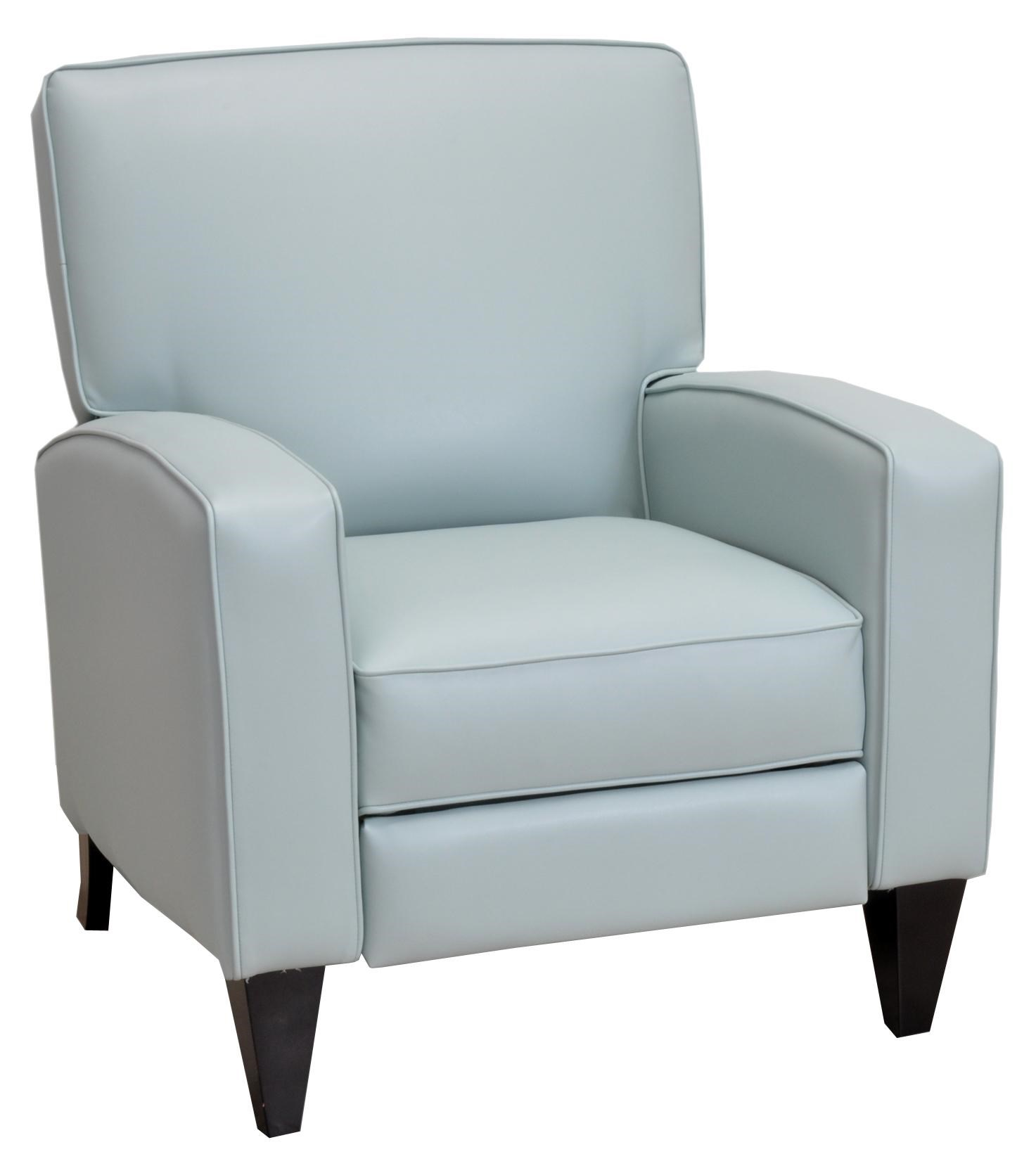 lucy push back chair in casual and contemporary style - franklin