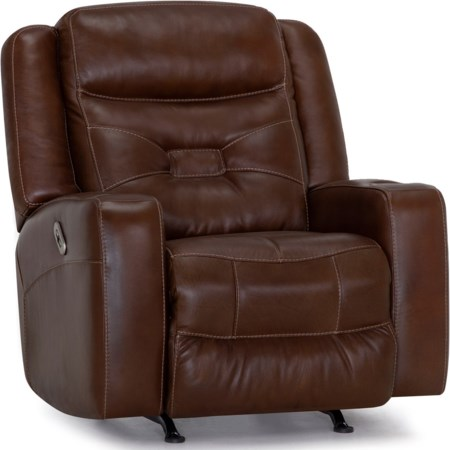 Dual Power Rocker Recliner with USB Port