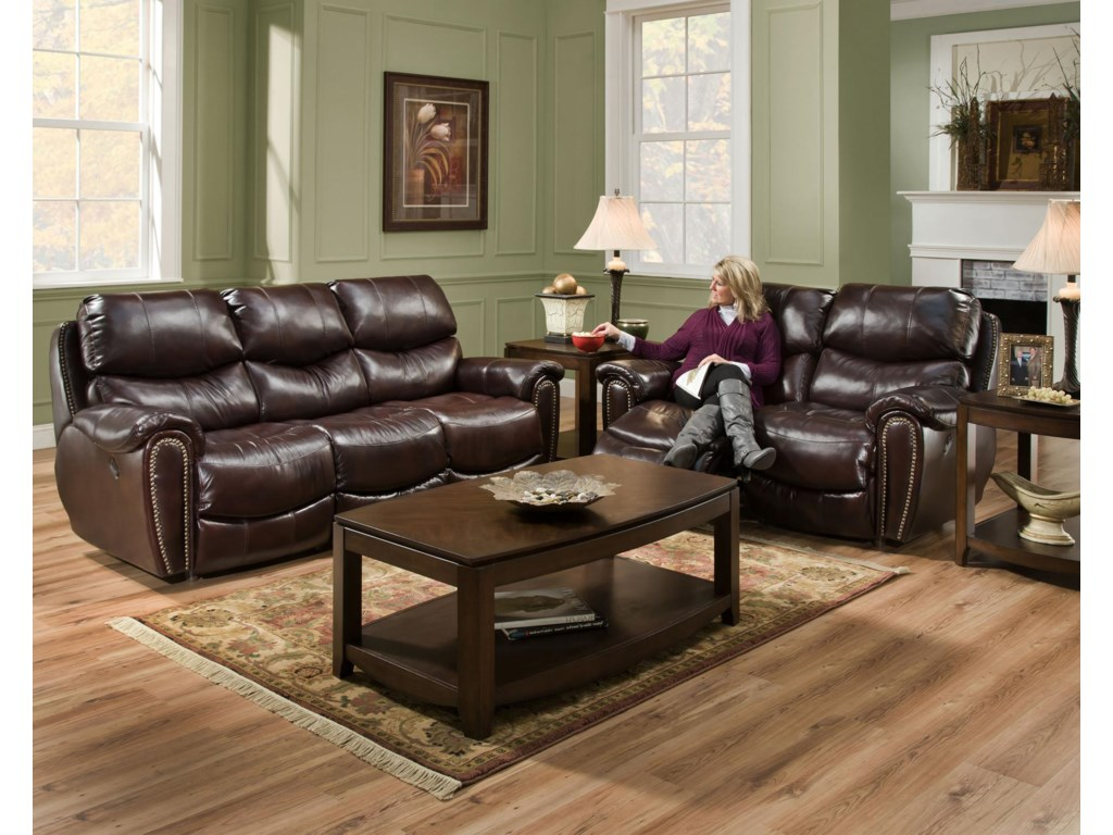 Franklin RichmondPower Reclining Loveseat