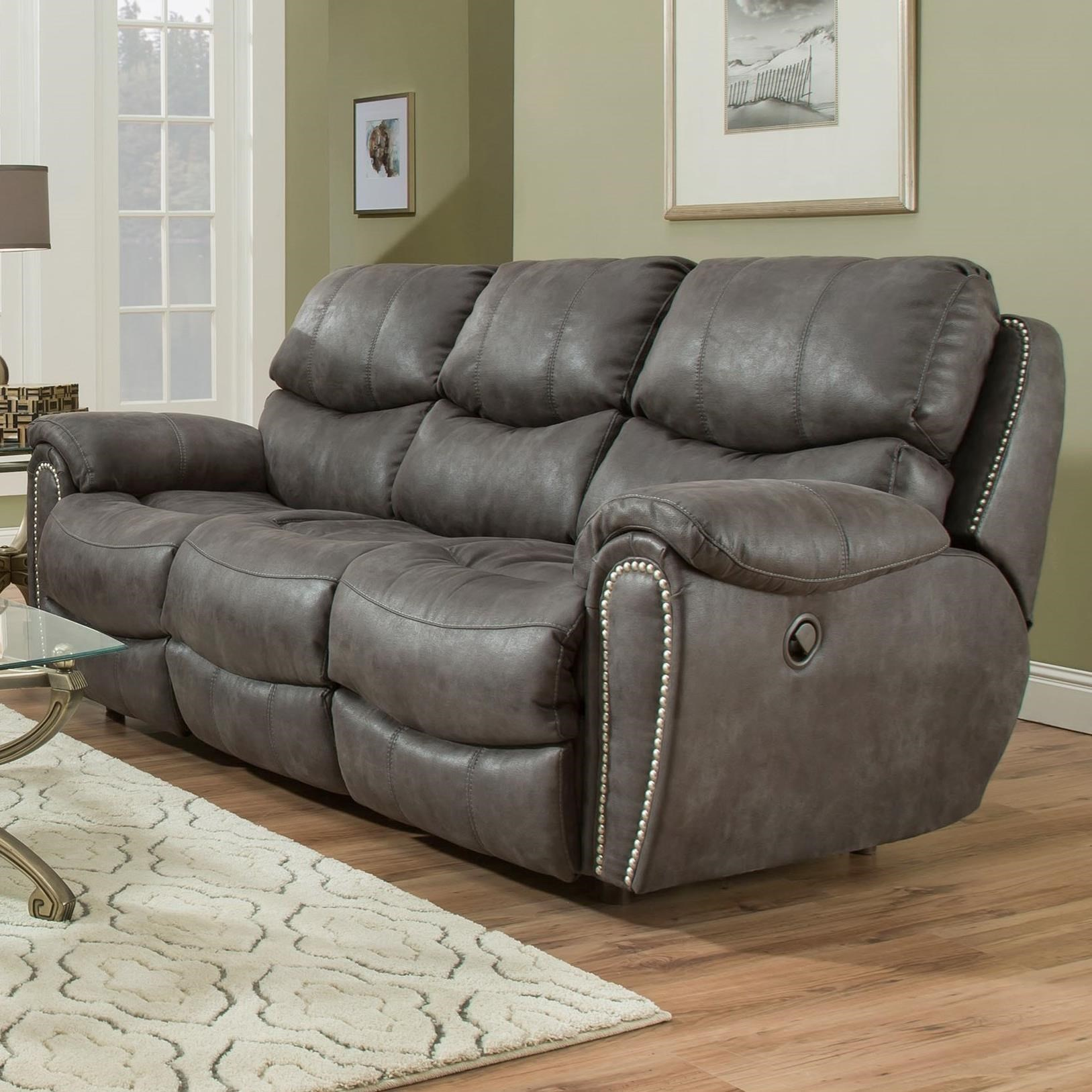 Franklin RichmondReclining Sofa With Nailhead Trim