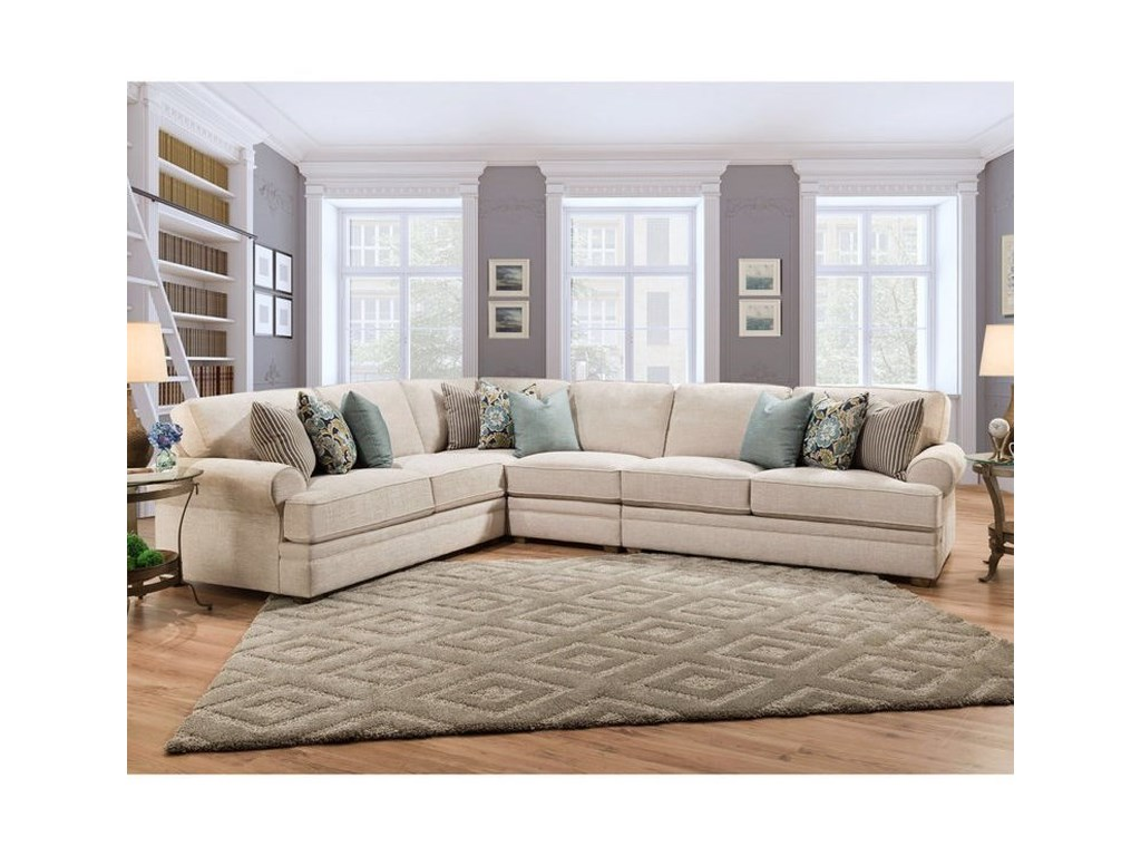 Franklin JasmineSectional Sofa