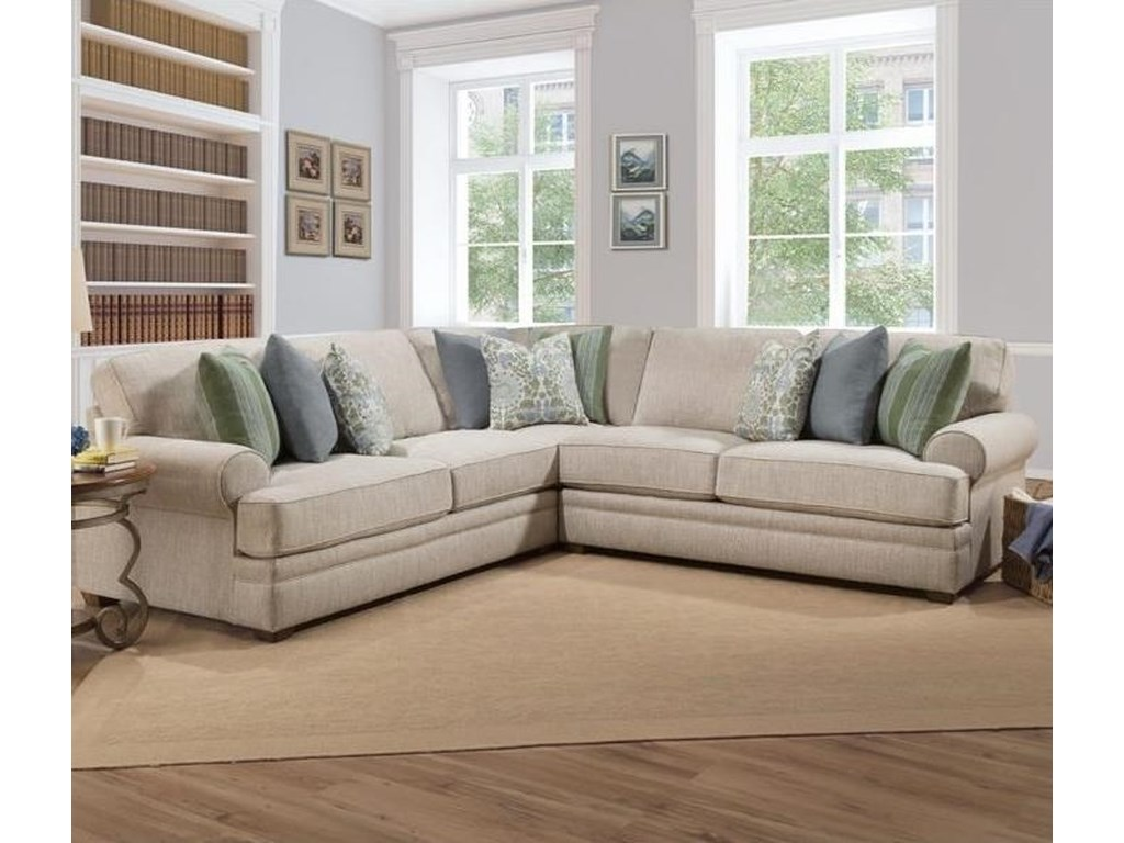Franklin Surrey Sectional Sofa With
