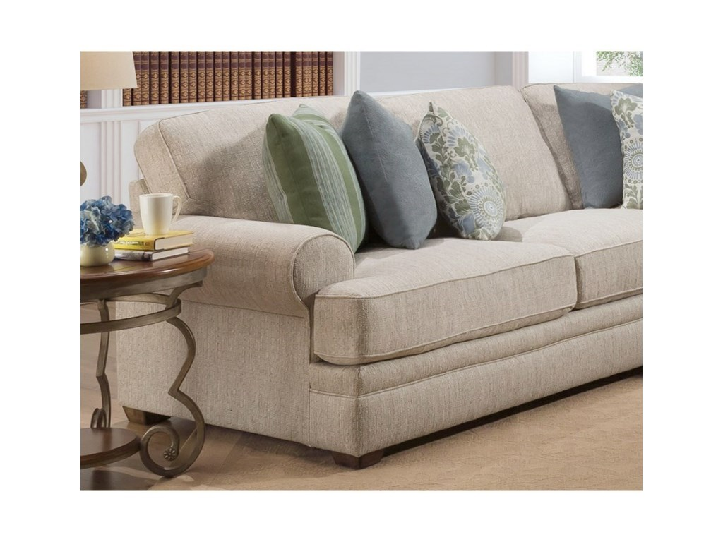 Franklin Surrey Sectional Sofa With Hidden Usb Port Rune S