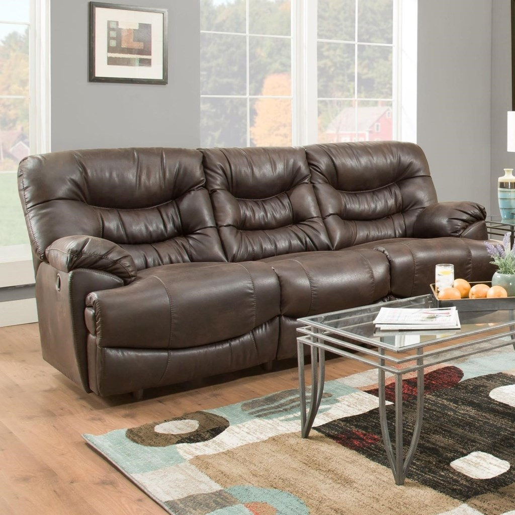 Franklin Touchdown Power Reclining Sofa With Usb Charging Port
