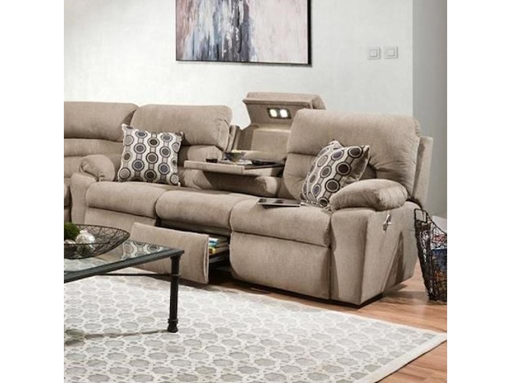Franklin TributeTriple Power Reclining Sofa