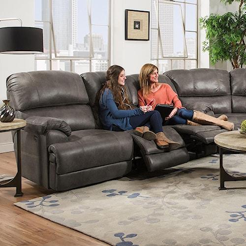 Franklin York Triple Reclining Sofa