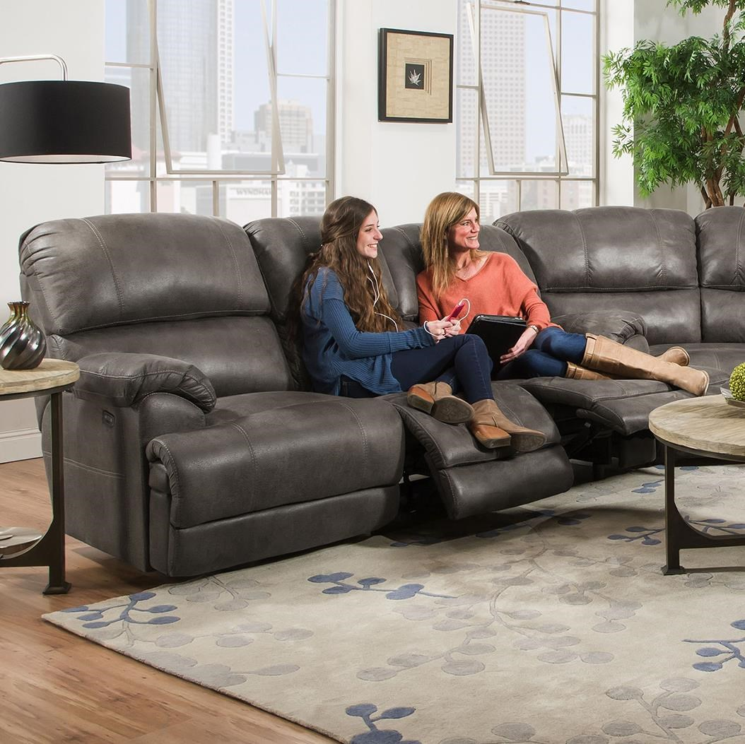 Ordinaire Franklin YorkTriple Reclining Sofa ...