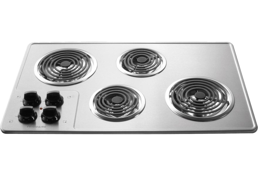 Frigidaire 32 Built In Electric Cooktop With 4 Coil Elements